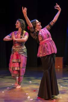 """Sheena Oliphant (L) Kari Alba (R) """"Allah-Hu"""""""